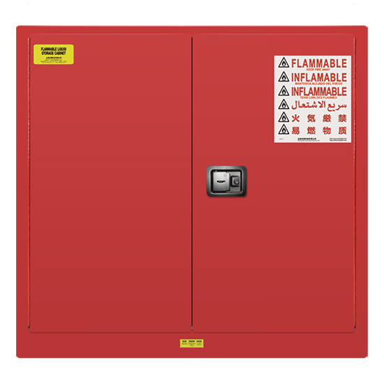 30 gallons Lab Storage Safety Cabinet -Red