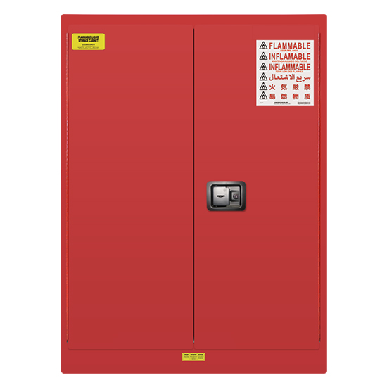 45 gallons Lab Storage Safety Cabinet -Red
