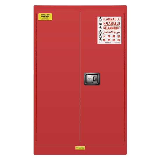 60 gallons Lab Storage Safety Cabinet -Red