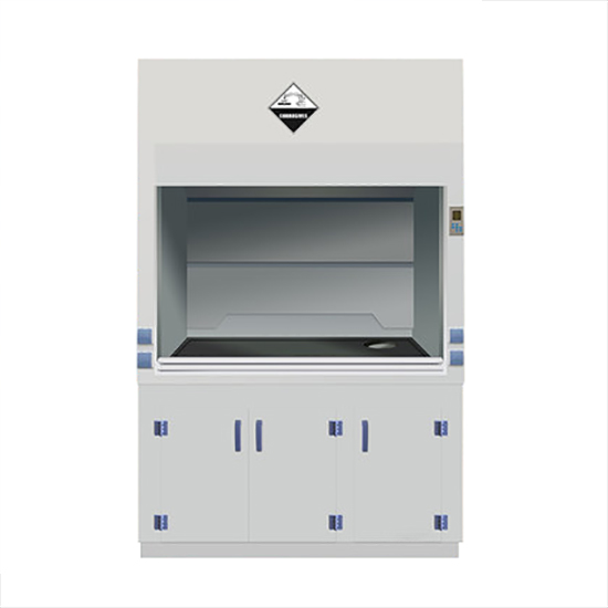 Strong Acid and Alkaki Resistance PP fume hood
